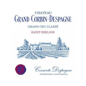 Château Grand Corbin Despagne logo